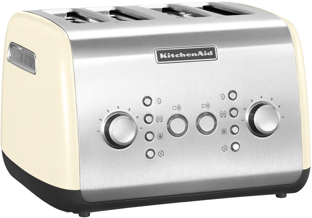 kitchenaid 4 scheiben toaster 5kmt421eac 1800 watt cr me schwab versand 4 scheiben toaster. Black Bedroom Furniture Sets. Home Design Ideas