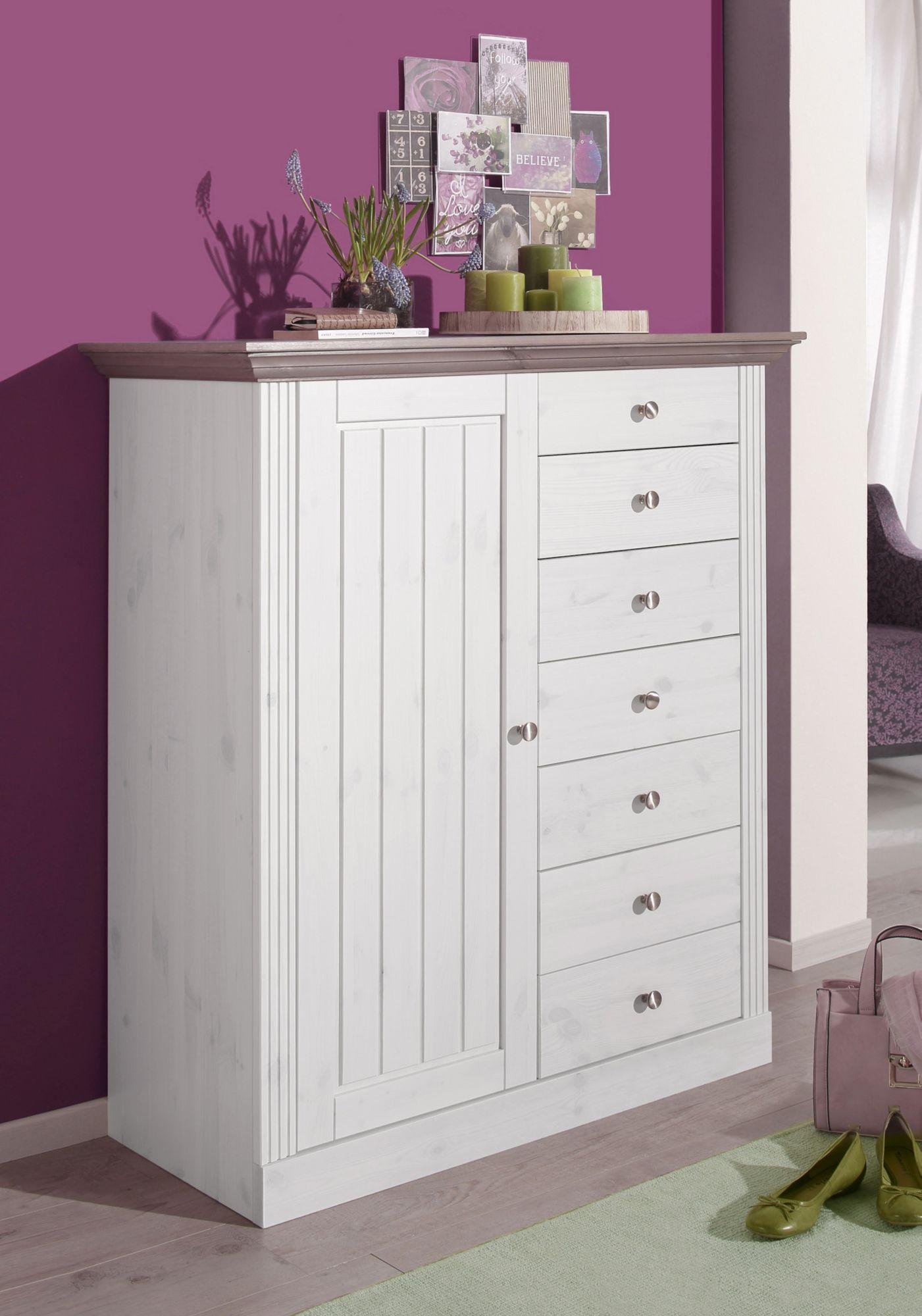kommode home affaire skanderborg breite 104 cm. Black Bedroom Furniture Sets. Home Design Ideas