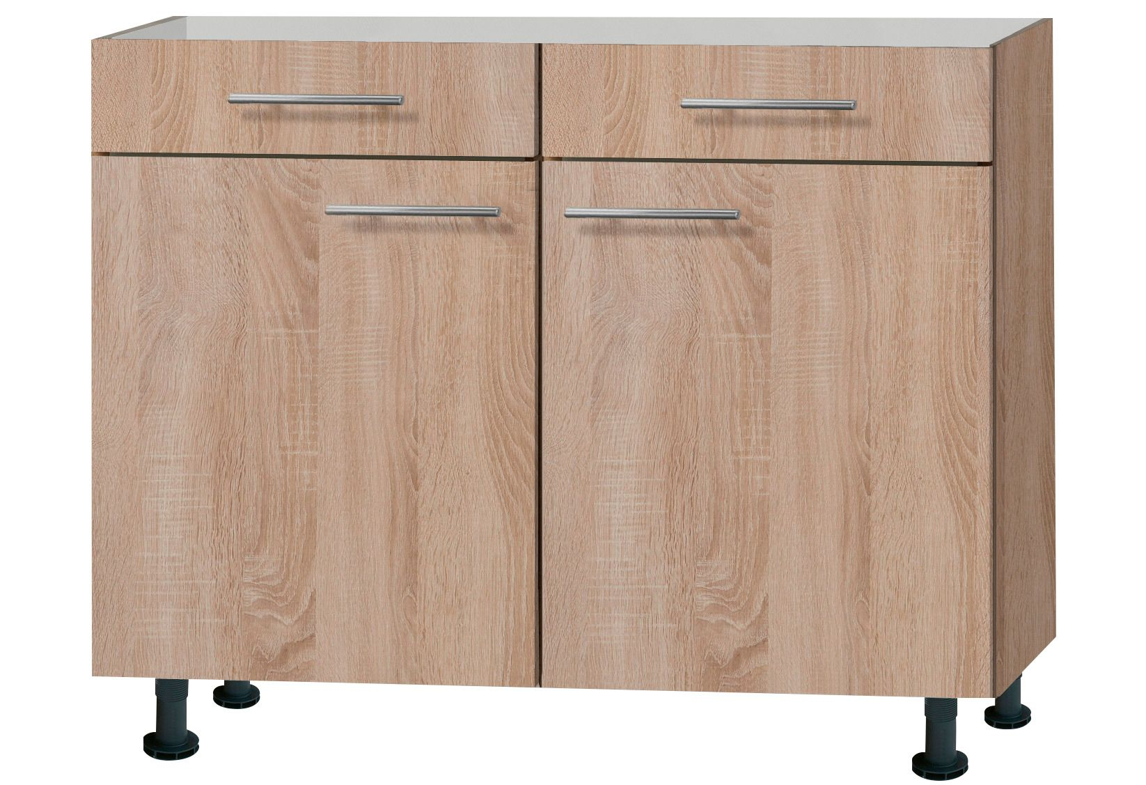 k chenunterschrank lasse breite 100 cm schwab versand k chenunterschr nke. Black Bedroom Furniture Sets. Home Design Ideas