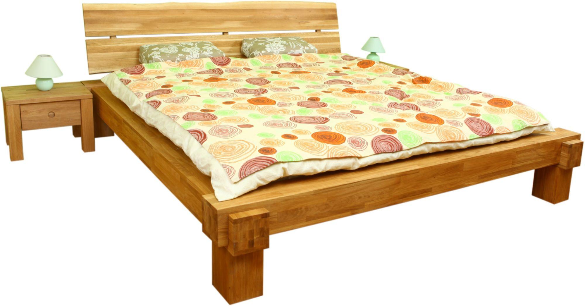 bett home affaire in baumkanten optik schwab versand. Black Bedroom Furniture Sets. Home Design Ideas
