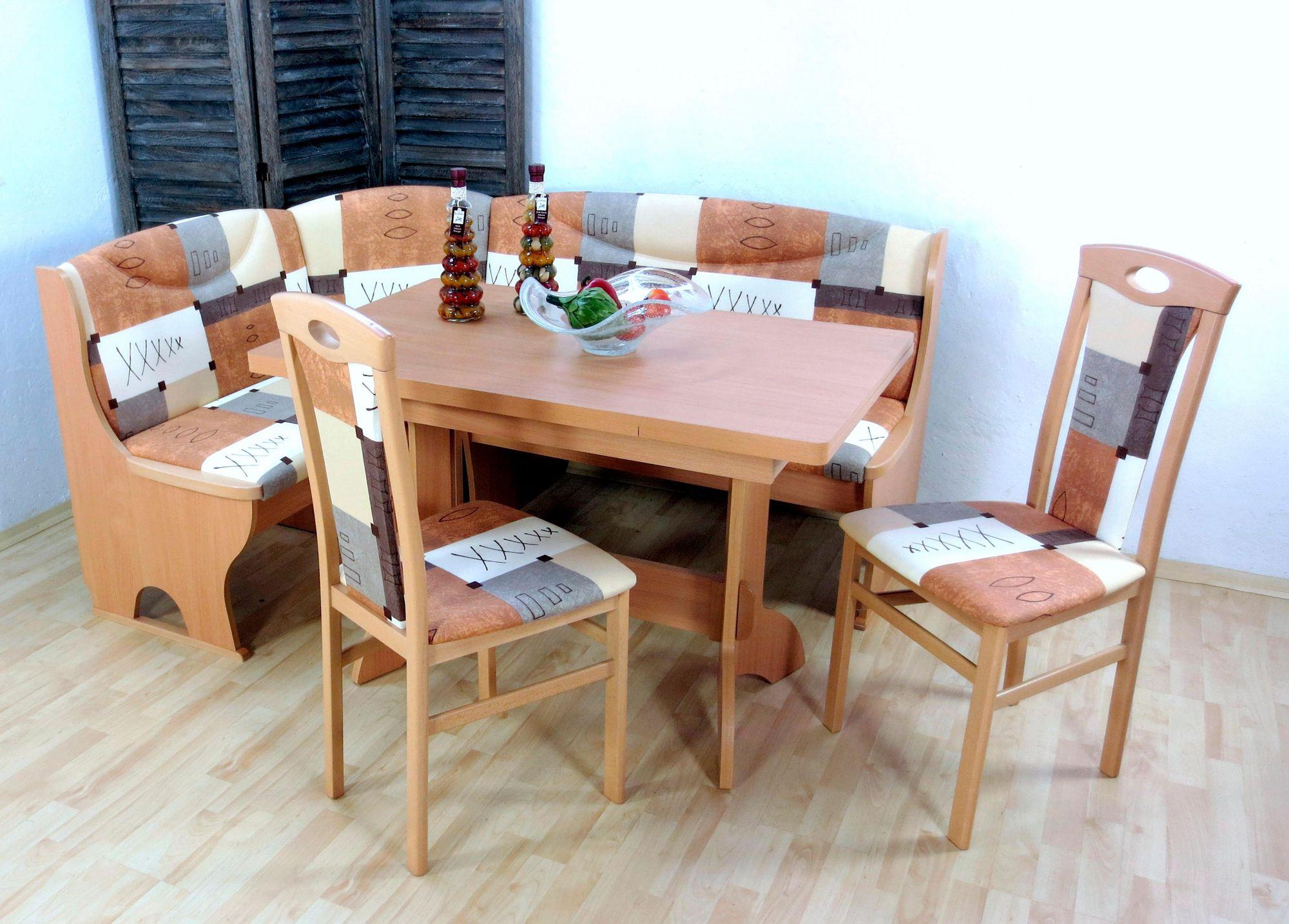 eckbankgruppe mit stauraum 4 teilig schwab versand eckbankgruppen. Black Bedroom Furniture Sets. Home Design Ideas