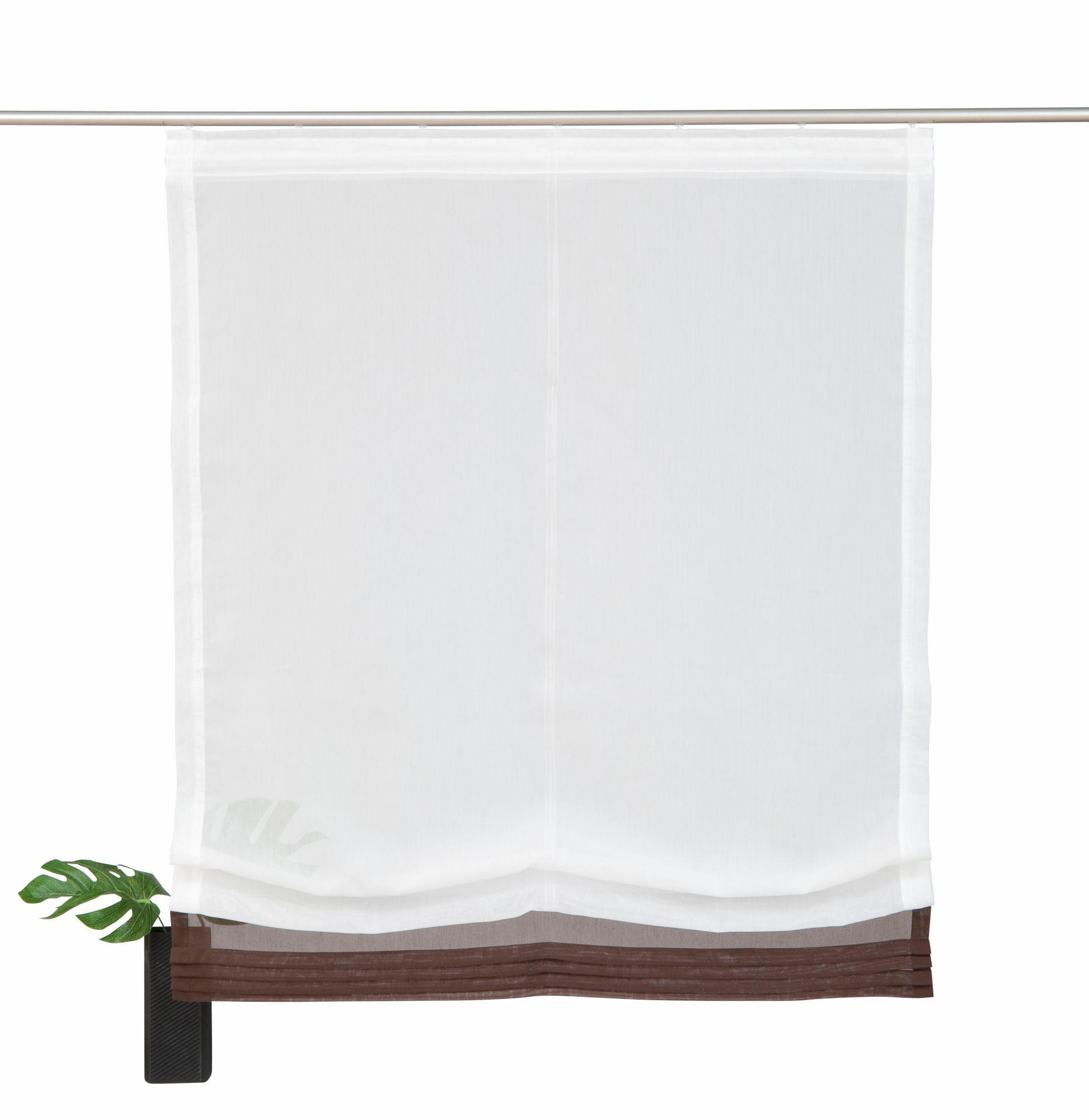 raffrollo home affaire collection gander mit. Black Bedroom Furniture Sets. Home Design Ideas
