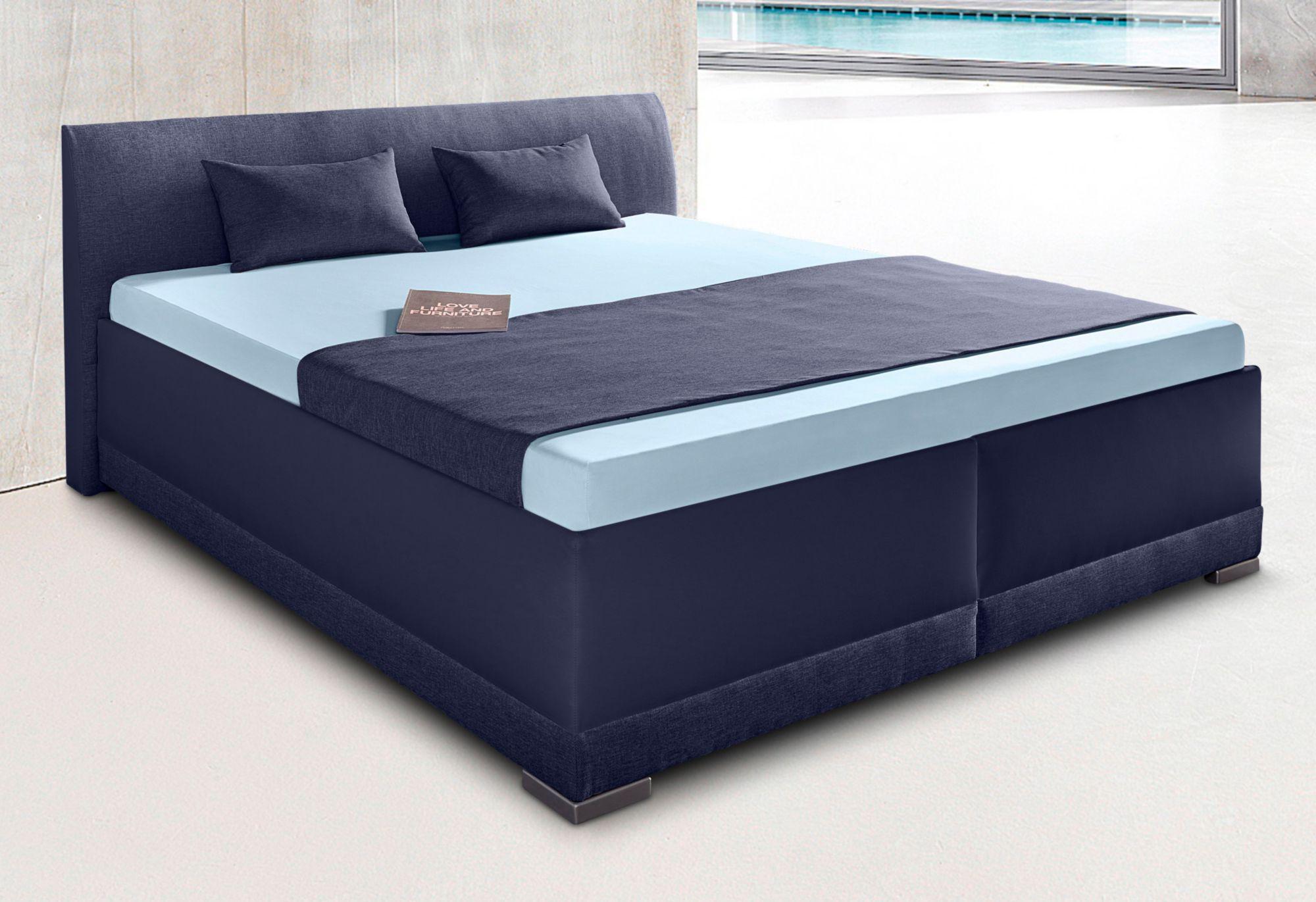 maintal polsterbett mit bettkasten schwab versand schlafm bel. Black Bedroom Furniture Sets. Home Design Ideas