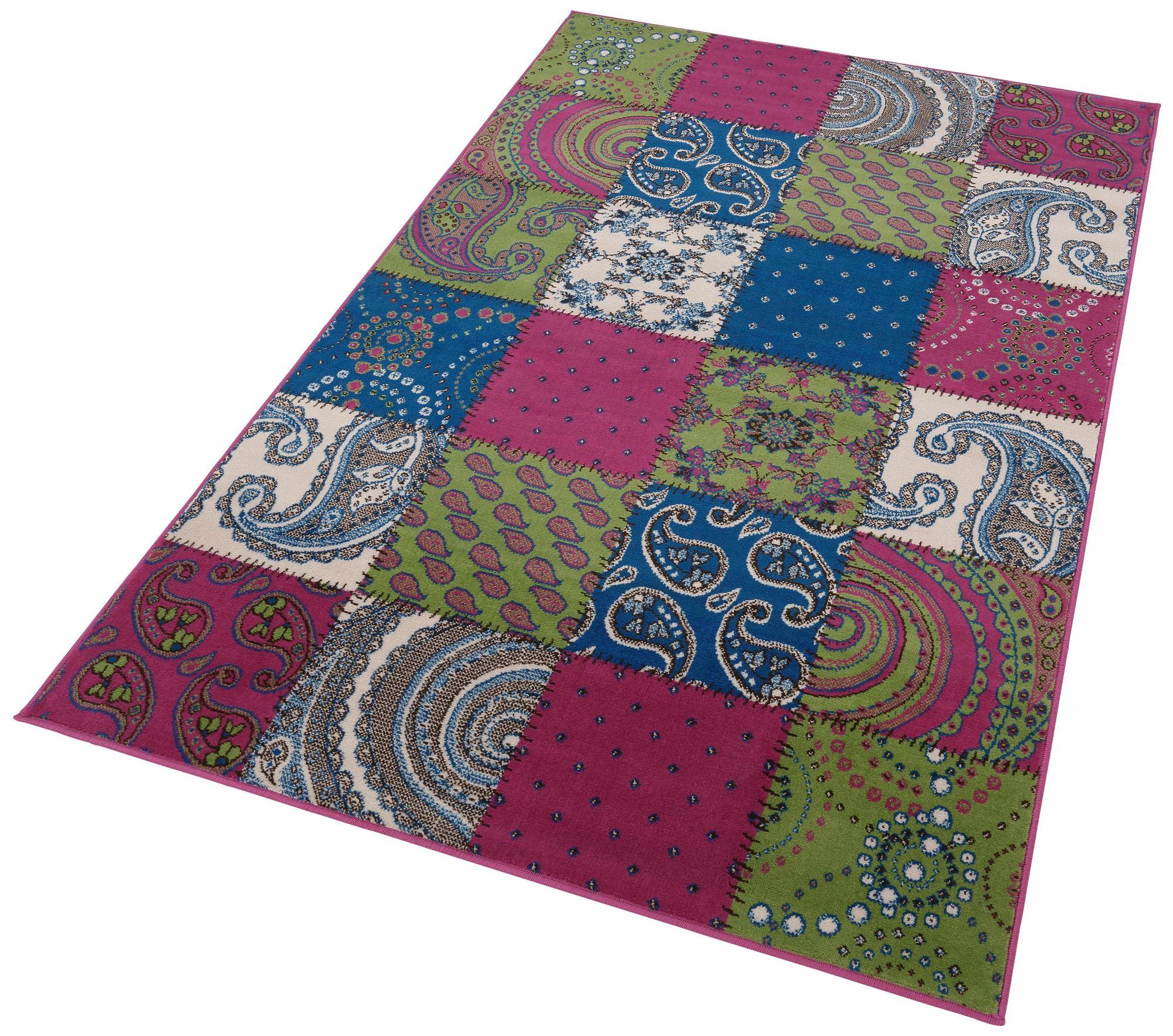 teppich hanse home bord re gewebt patchwork optik bord re schwab versand kurzflor tepp. Black Bedroom Furniture Sets. Home Design Ideas