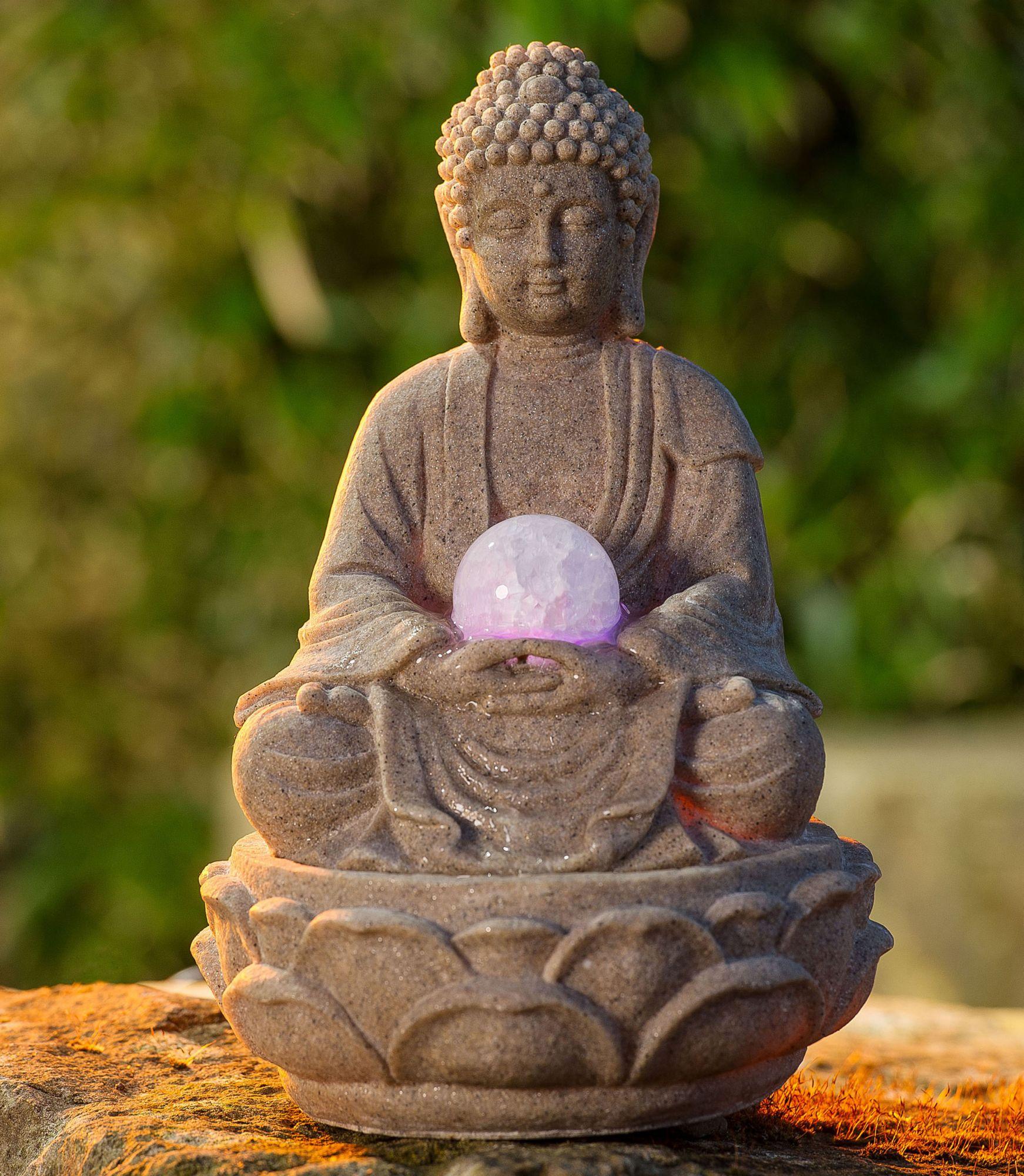 Zimmerbrunnen buddha lotus schwab versand dekoartikel - Zimmerbrunnen baumarkt ...