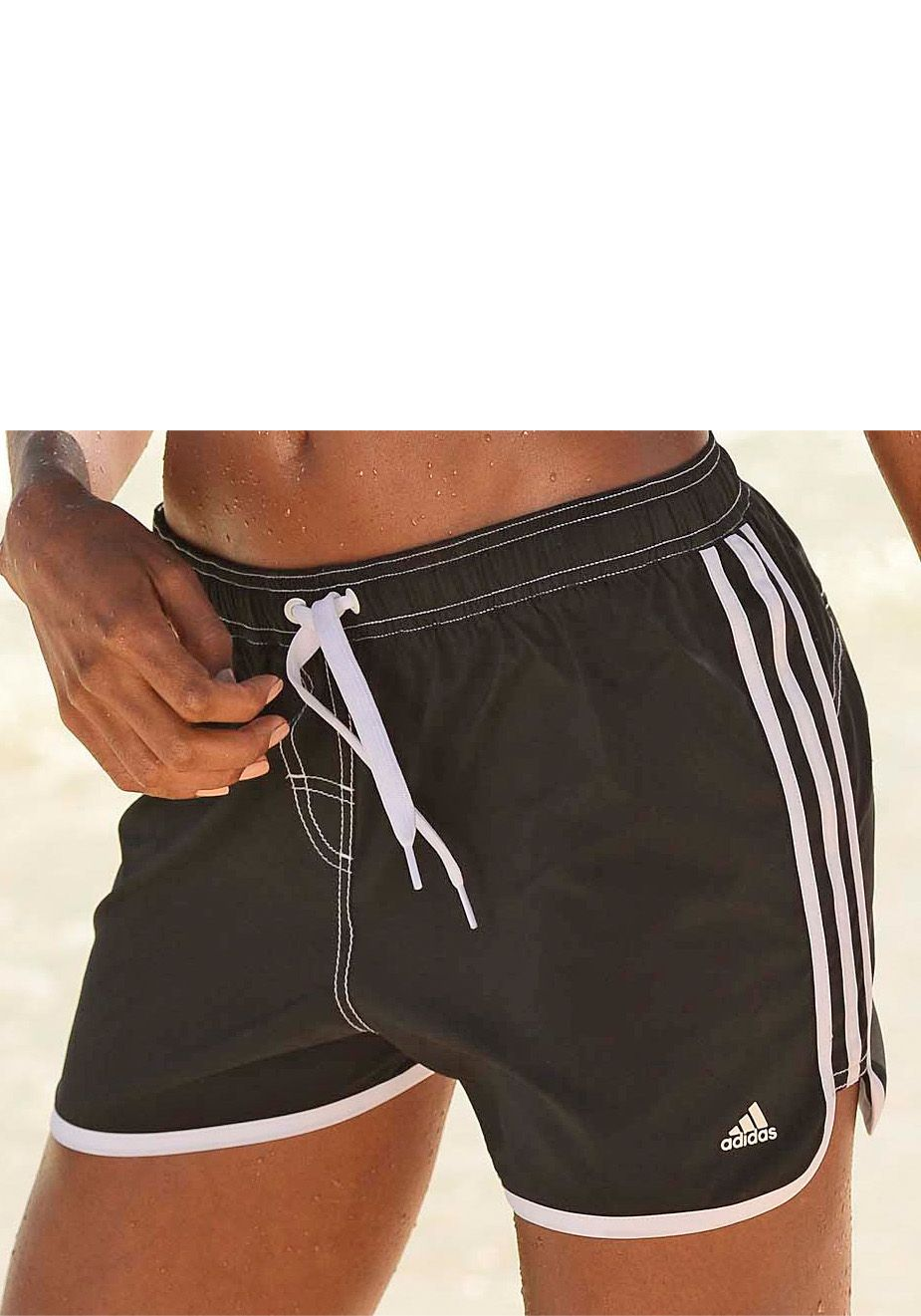 Pin Adidas Performance Badeshorts Basic Sh Sl In Blau Gr Xl Fà ¼r