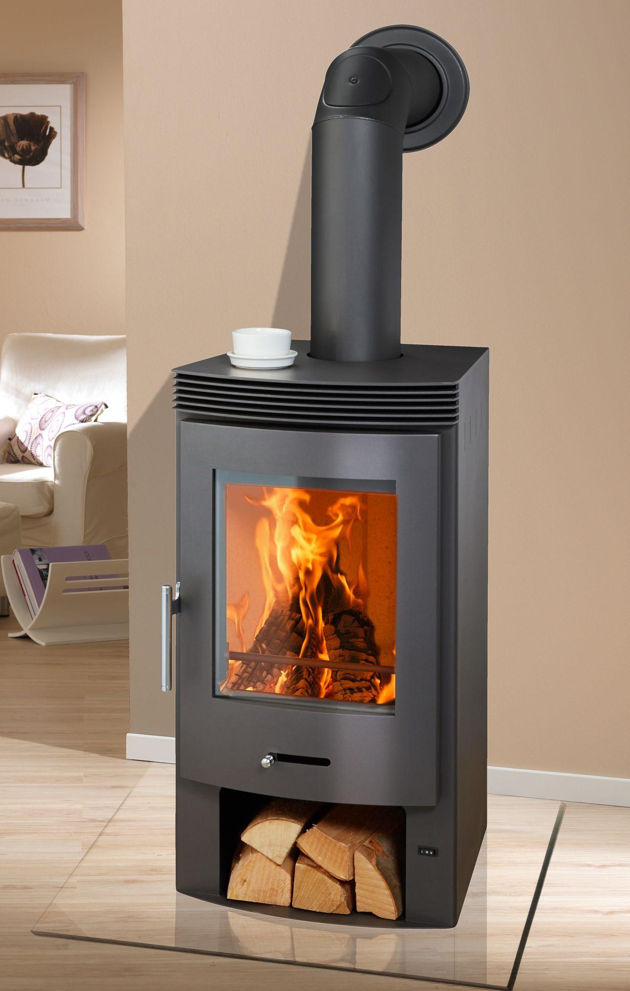 kaminofen bergen stahl 7 4 kw mit integr ventilator. Black Bedroom Furniture Sets. Home Design Ideas