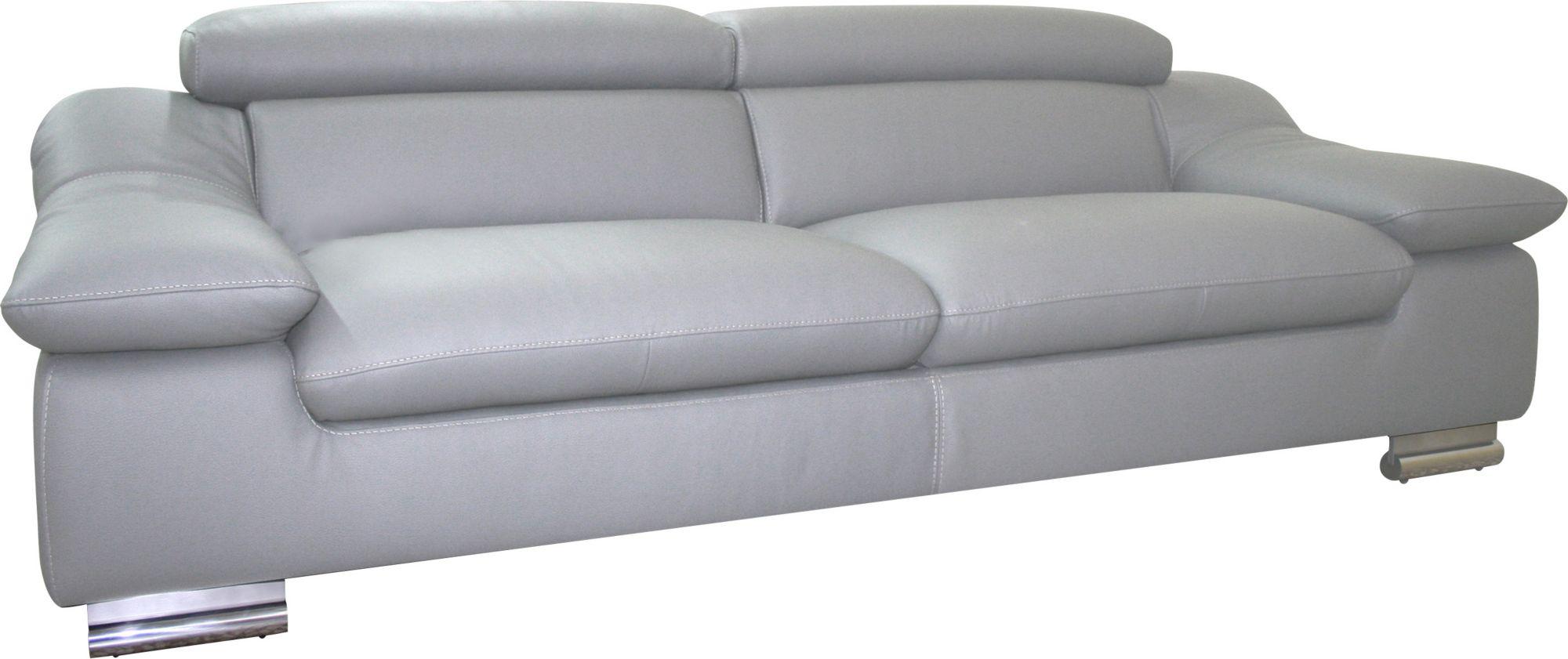 calia italia 3 sitzer ledersofa in zwei lederqualit ten schwab versand ecksofas. Black Bedroom Furniture Sets. Home Design Ideas