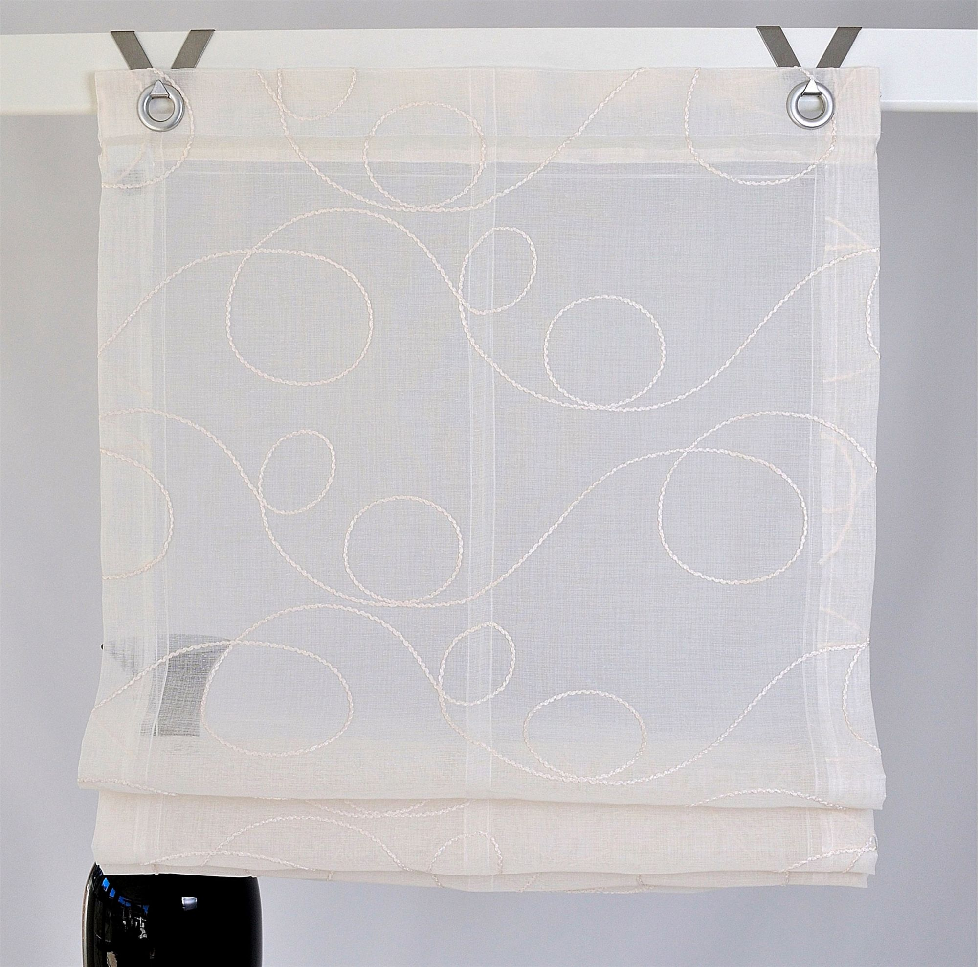 raffrollo kutti jasmin 1er pack ohne bohren schwab. Black Bedroom Furniture Sets. Home Design Ideas