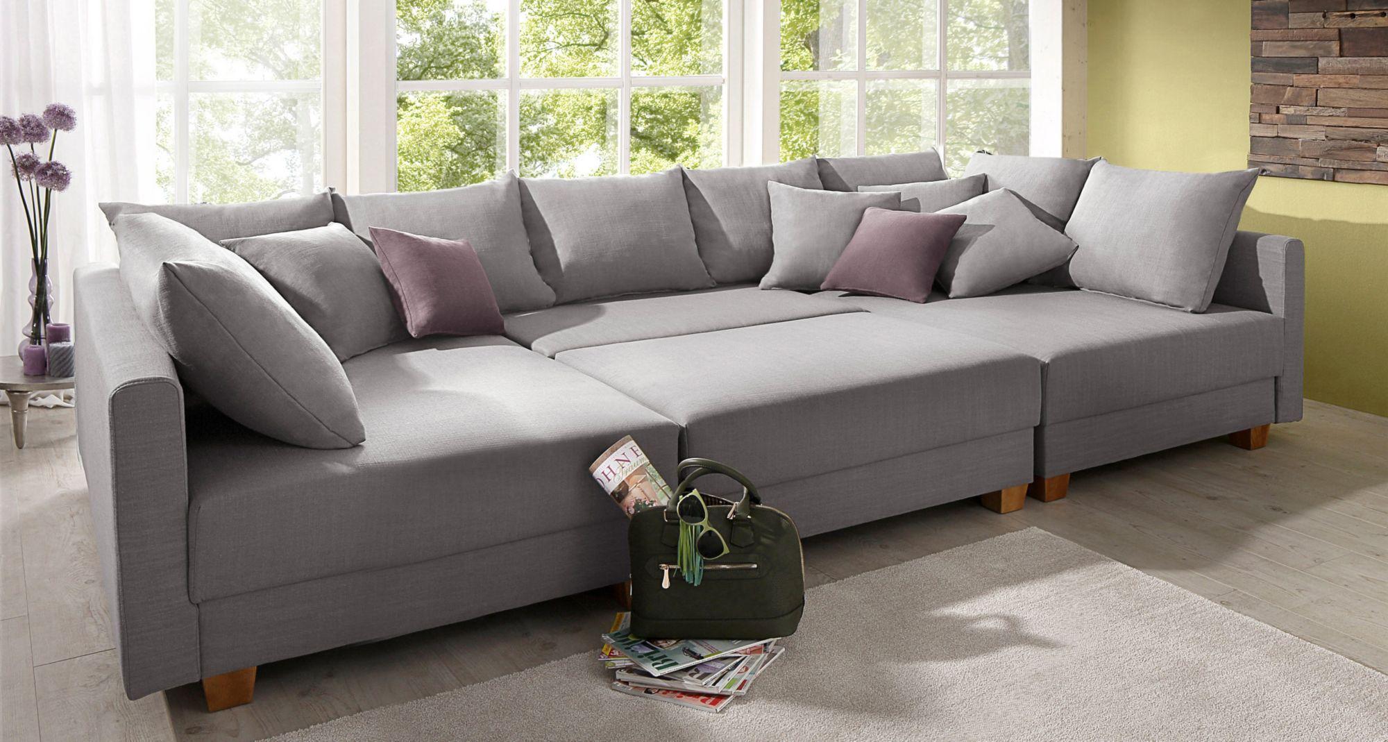 home affaire wohnlandschaft antiebes mit federkern. Black Bedroom Furniture Sets. Home Design Ideas