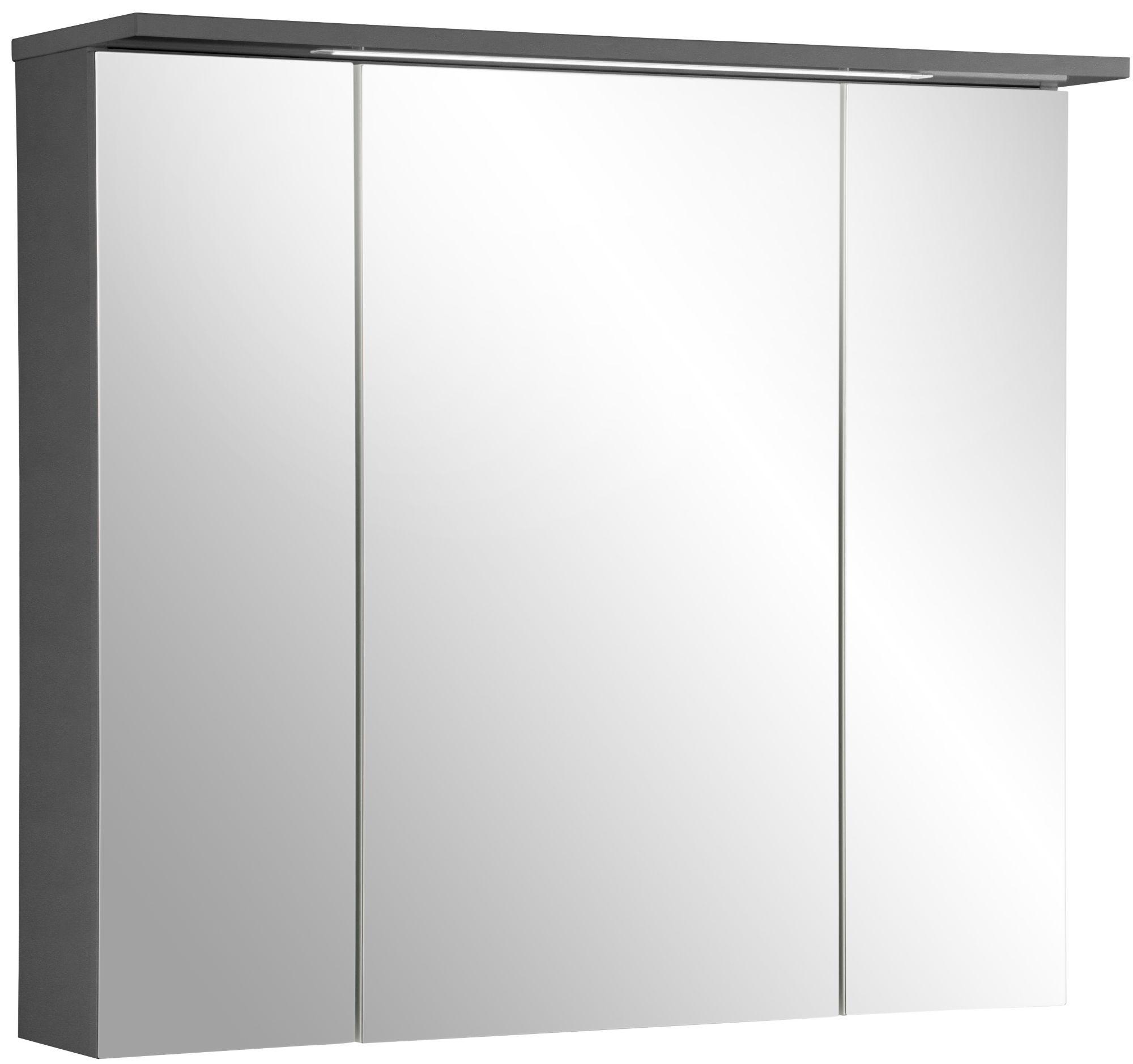 spiegelschrank merle breite 80 cm schwab versand. Black Bedroom Furniture Sets. Home Design Ideas