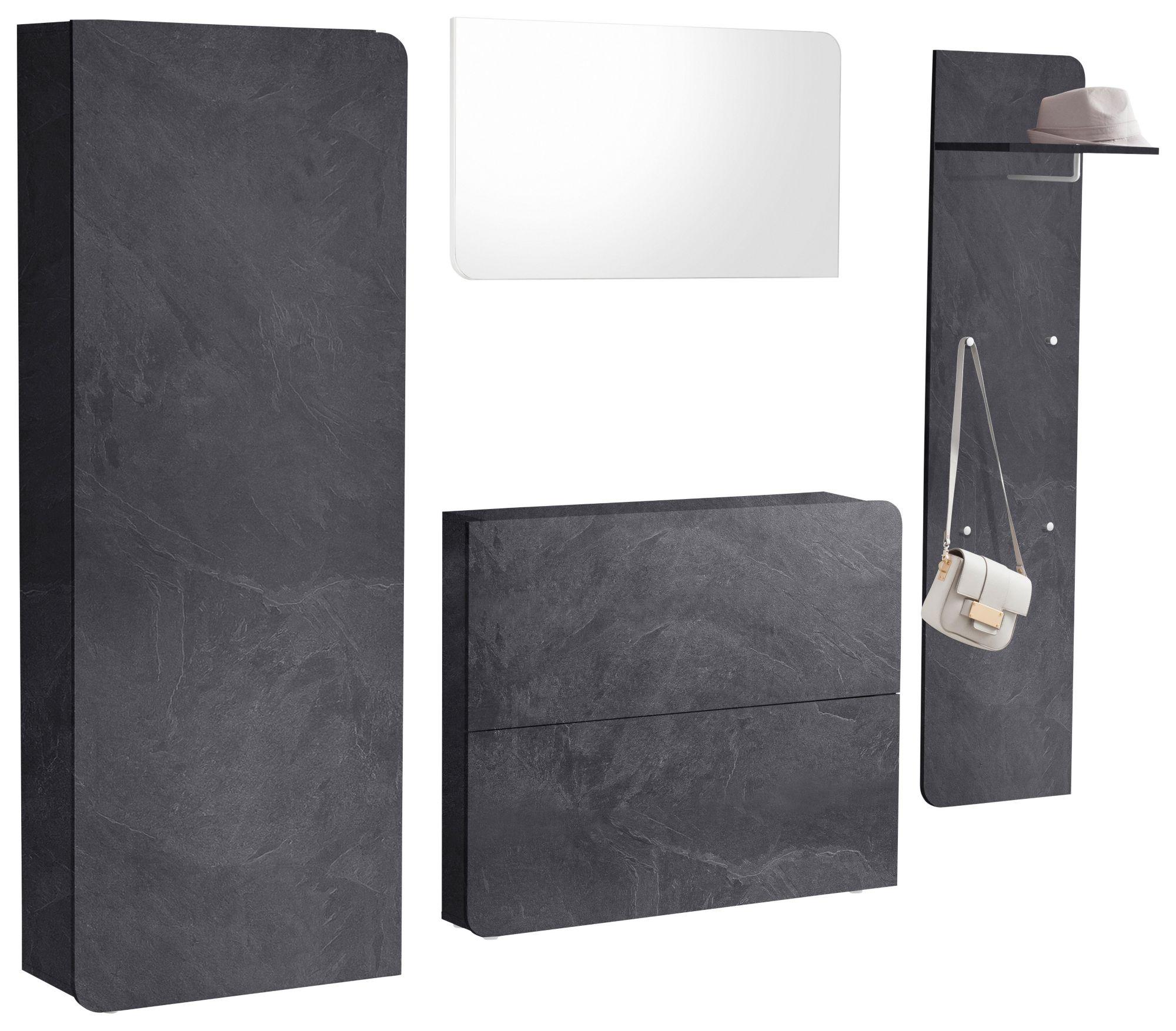garderoben set goccia 4 tlg schwab versand garderobe flur. Black Bedroom Furniture Sets. Home Design Ideas
