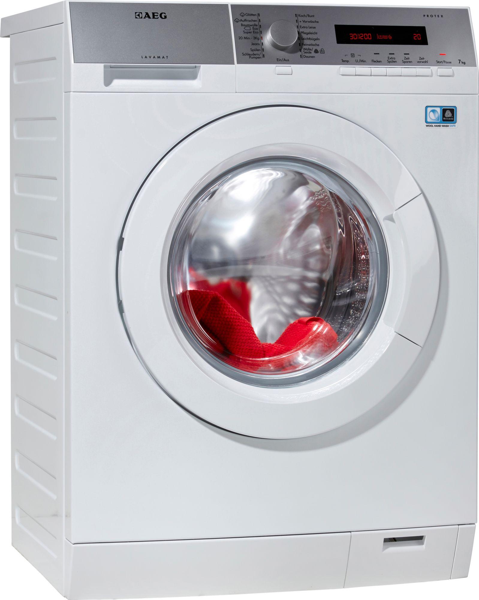 aeg waschmaschine lavamat a 7 kg 1400 u min. Black Bedroom Furniture Sets. Home Design Ideas