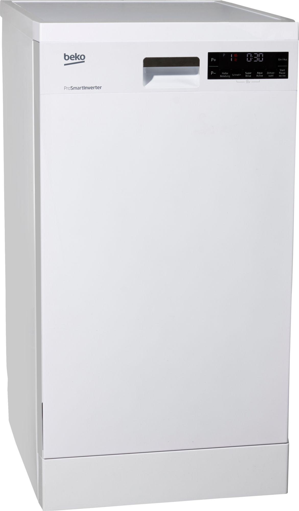 Beko Geschirrspüler DFS28020W, Energieklasse A++, 10  ~ Geschirrspülmaschine Größen