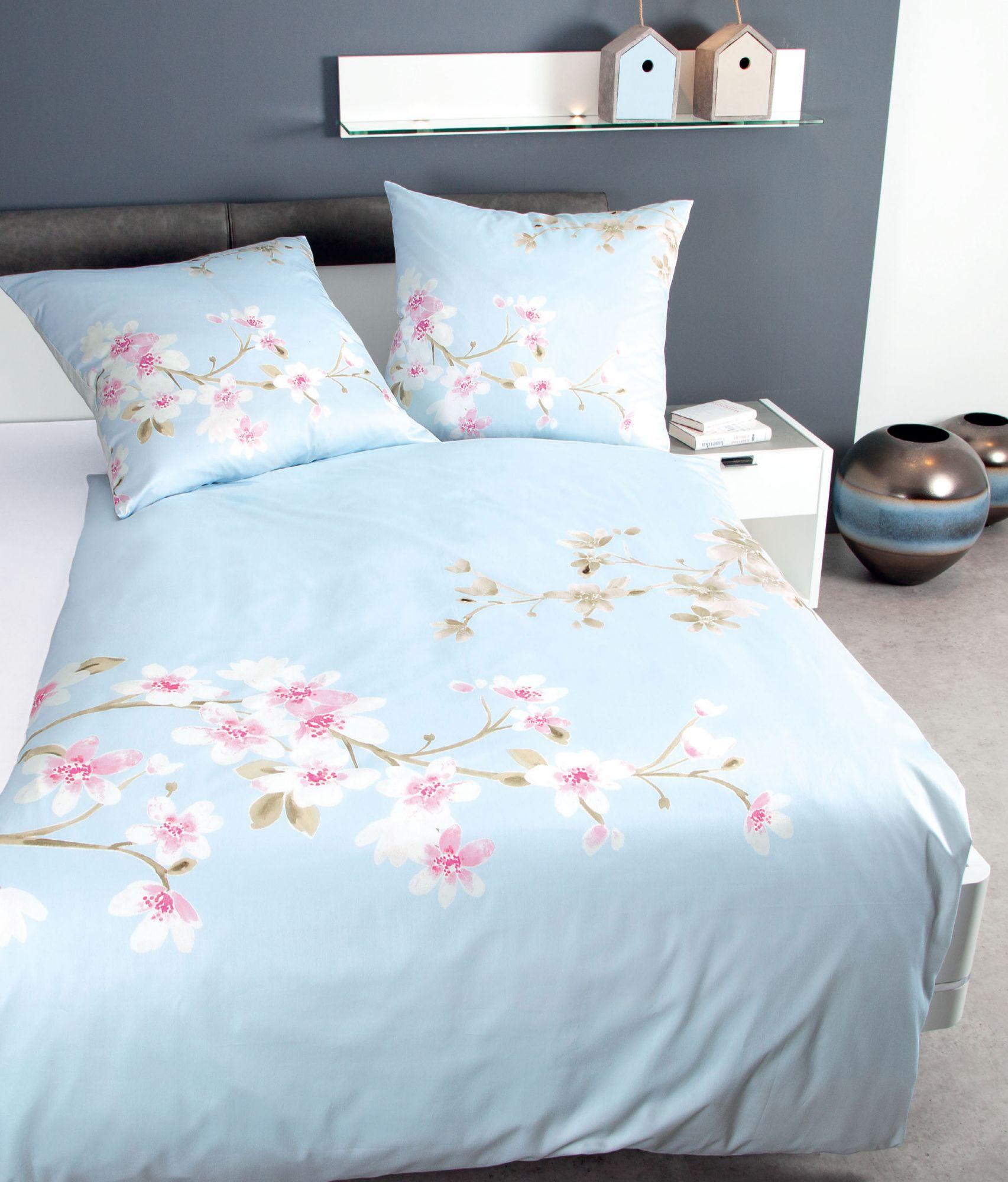 bettw sche janine fr hlingsbl te mit zweig motiven. Black Bedroom Furniture Sets. Home Design Ideas