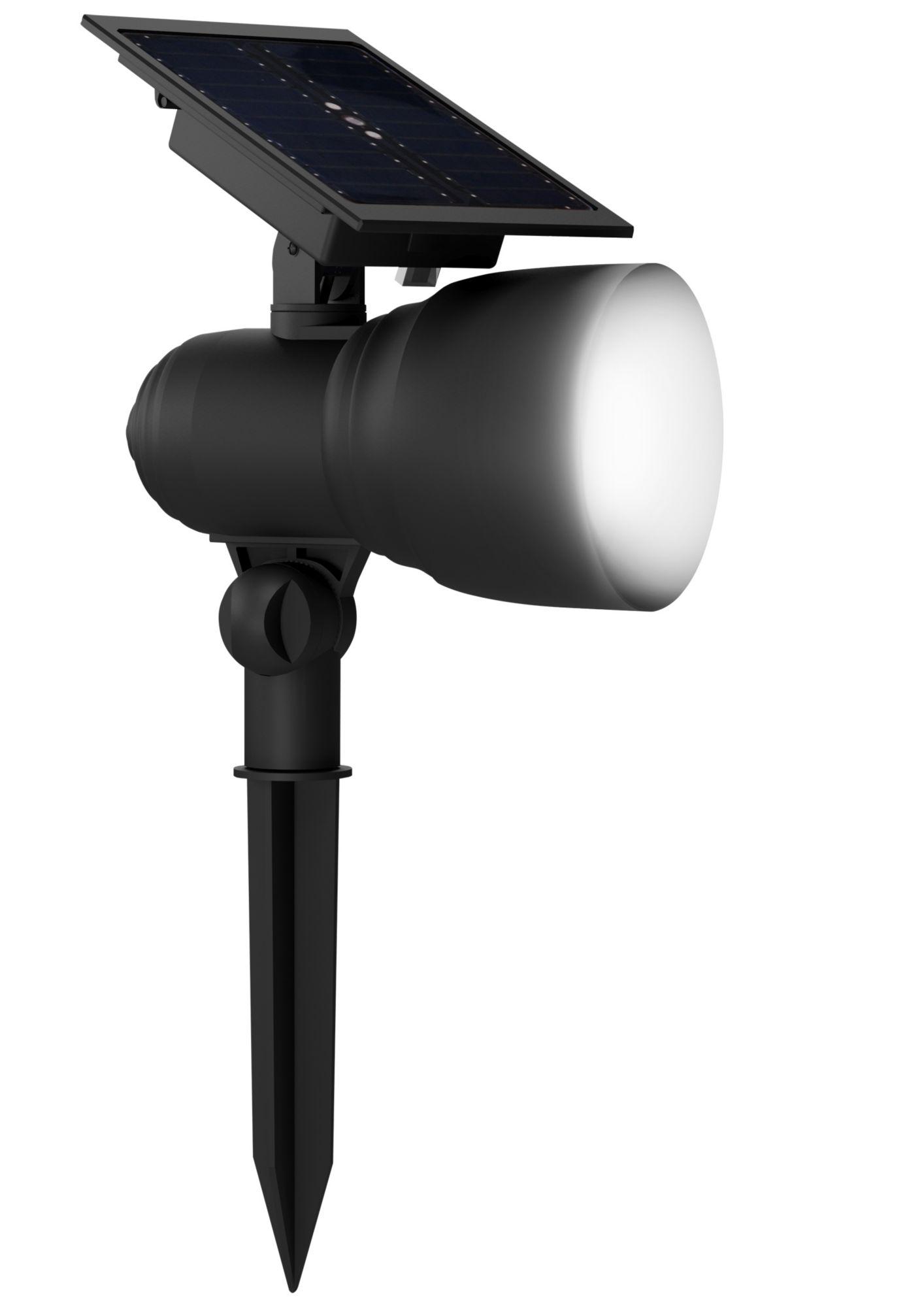 duracell led solar spot light gartenlampe gl005bdu 30. Black Bedroom Furniture Sets. Home Design Ideas