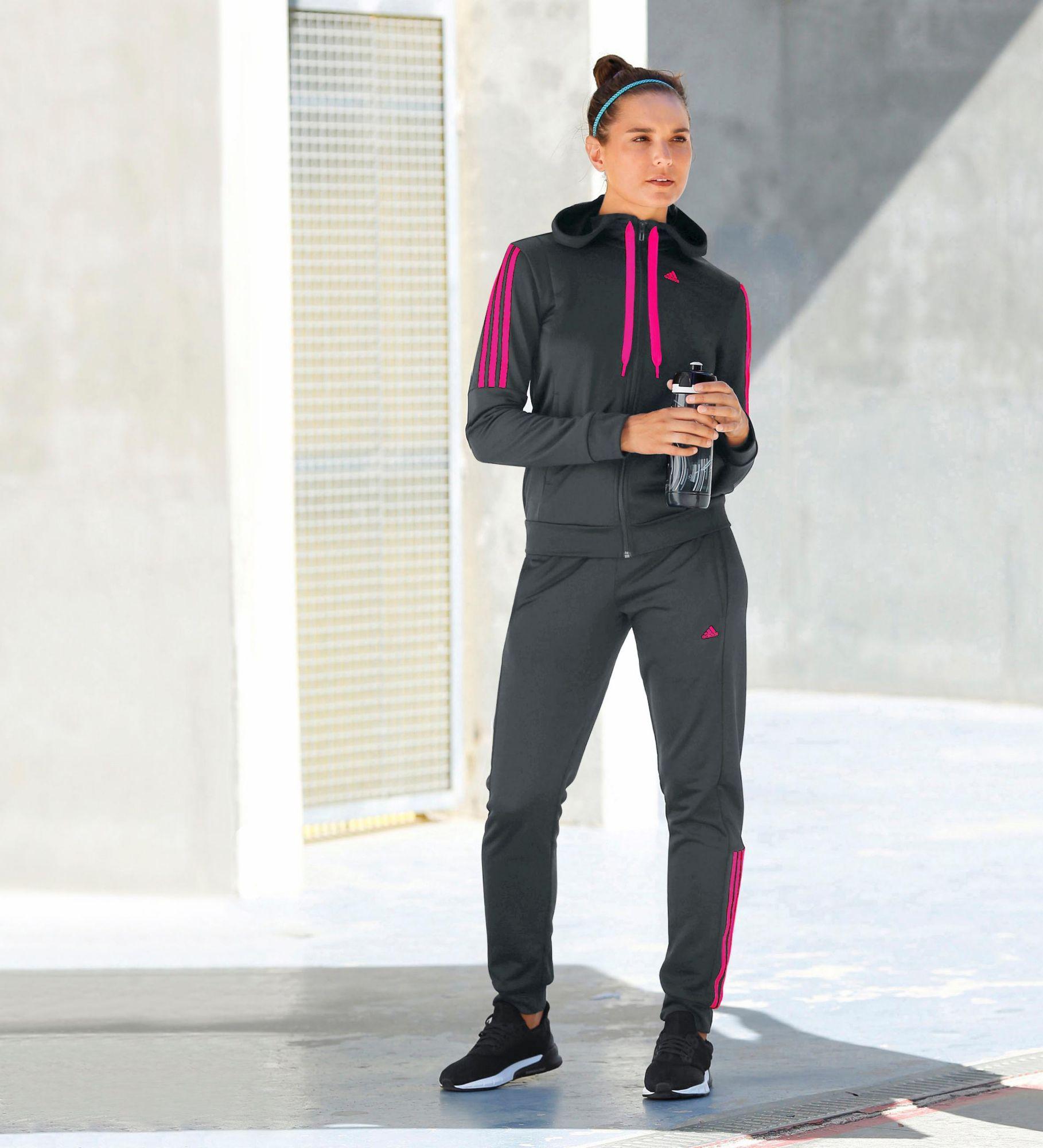 Adidas Weißer Trainingsanzug