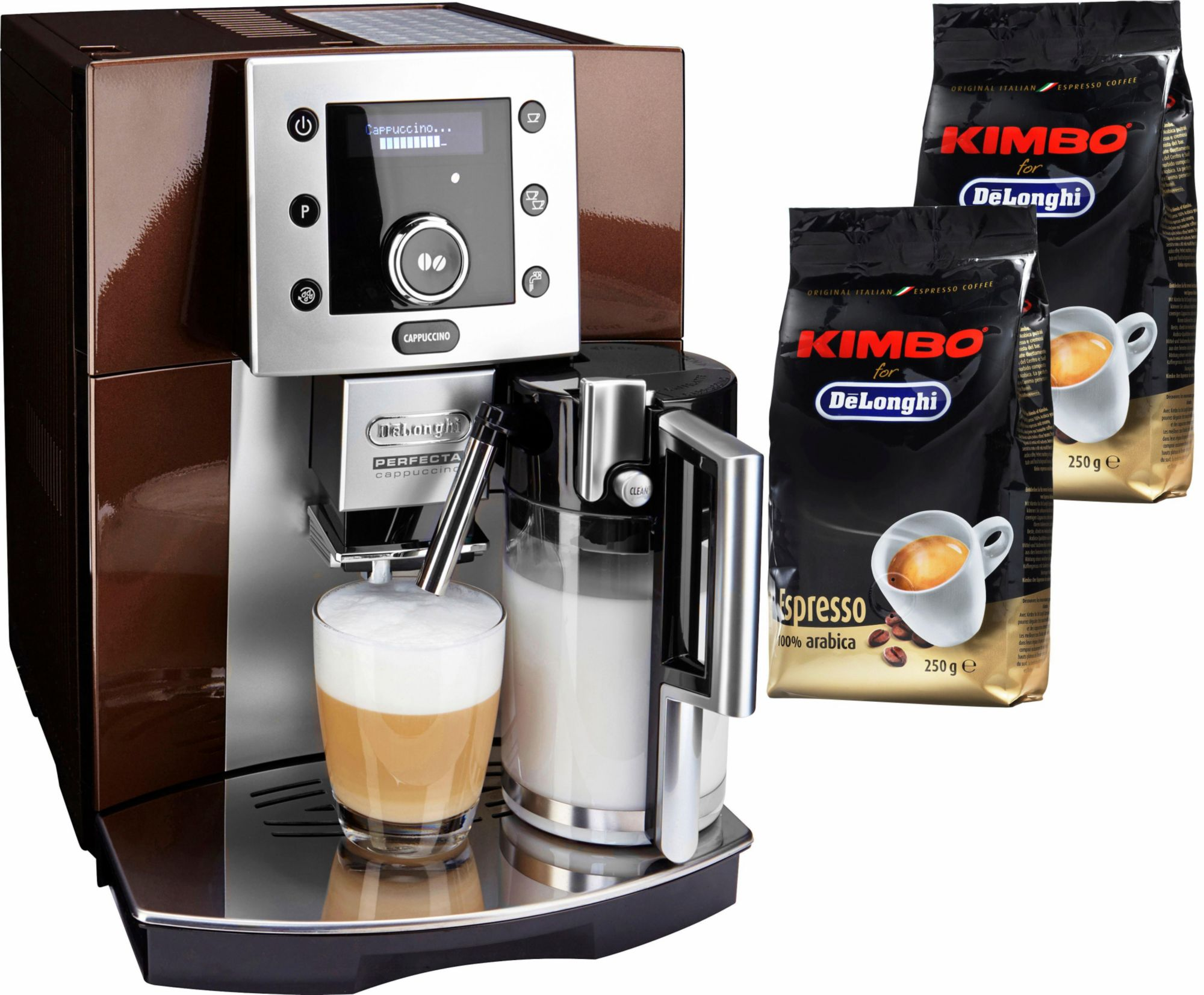 de 39 longhi kaffeevollautomat perfecta esam 5550 schwab versand bunter haushalt. Black Bedroom Furniture Sets. Home Design Ideas