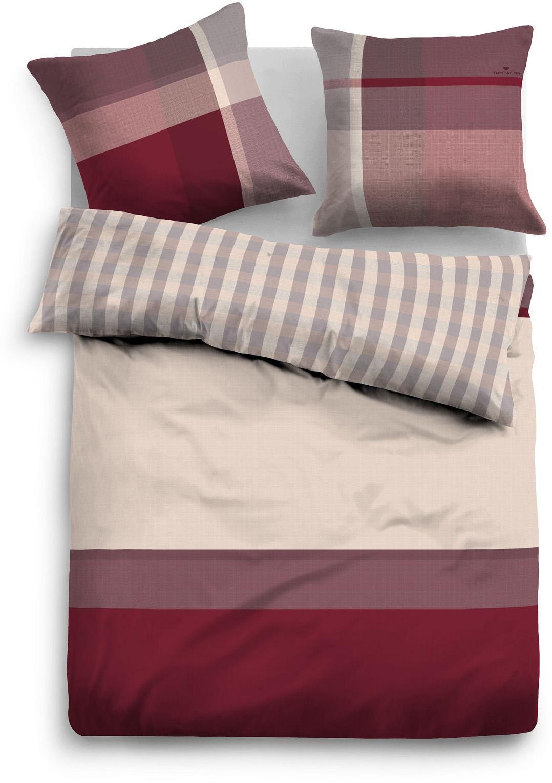 bettw sche tom tailor sally mit farbbalken schwab. Black Bedroom Furniture Sets. Home Design Ideas