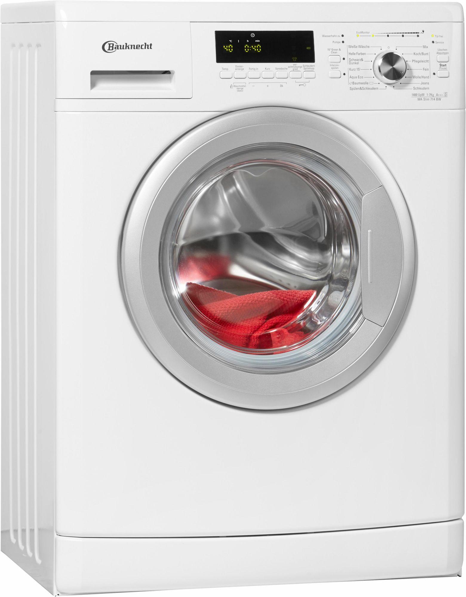 waschmaschine bauknecht preise vergleichen und g nstig. Black Bedroom Furniture Sets. Home Design Ideas