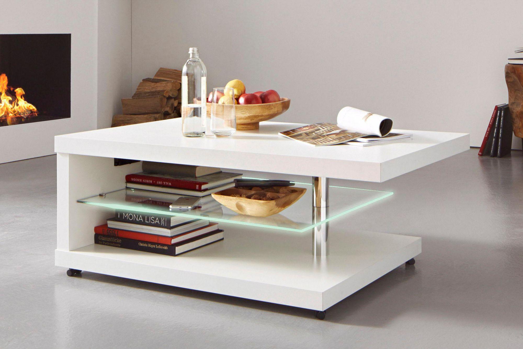 couchtisch mit led beleuchtung schwab versand eckige. Black Bedroom Furniture Sets. Home Design Ideas