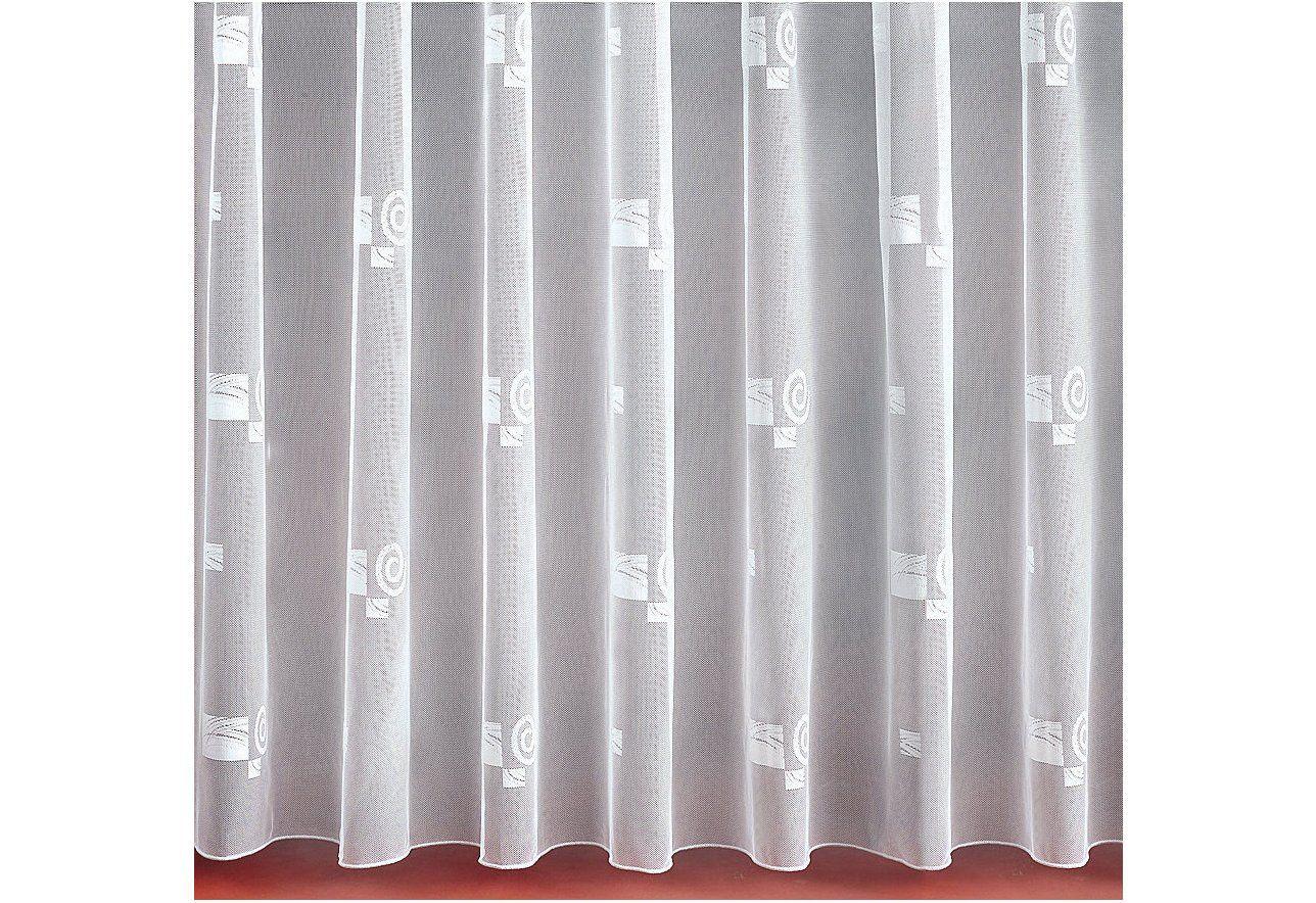 gardine nach ma mit festen falten weckbrodt gardinen schwab versand wohnzimmer. Black Bedroom Furniture Sets. Home Design Ideas