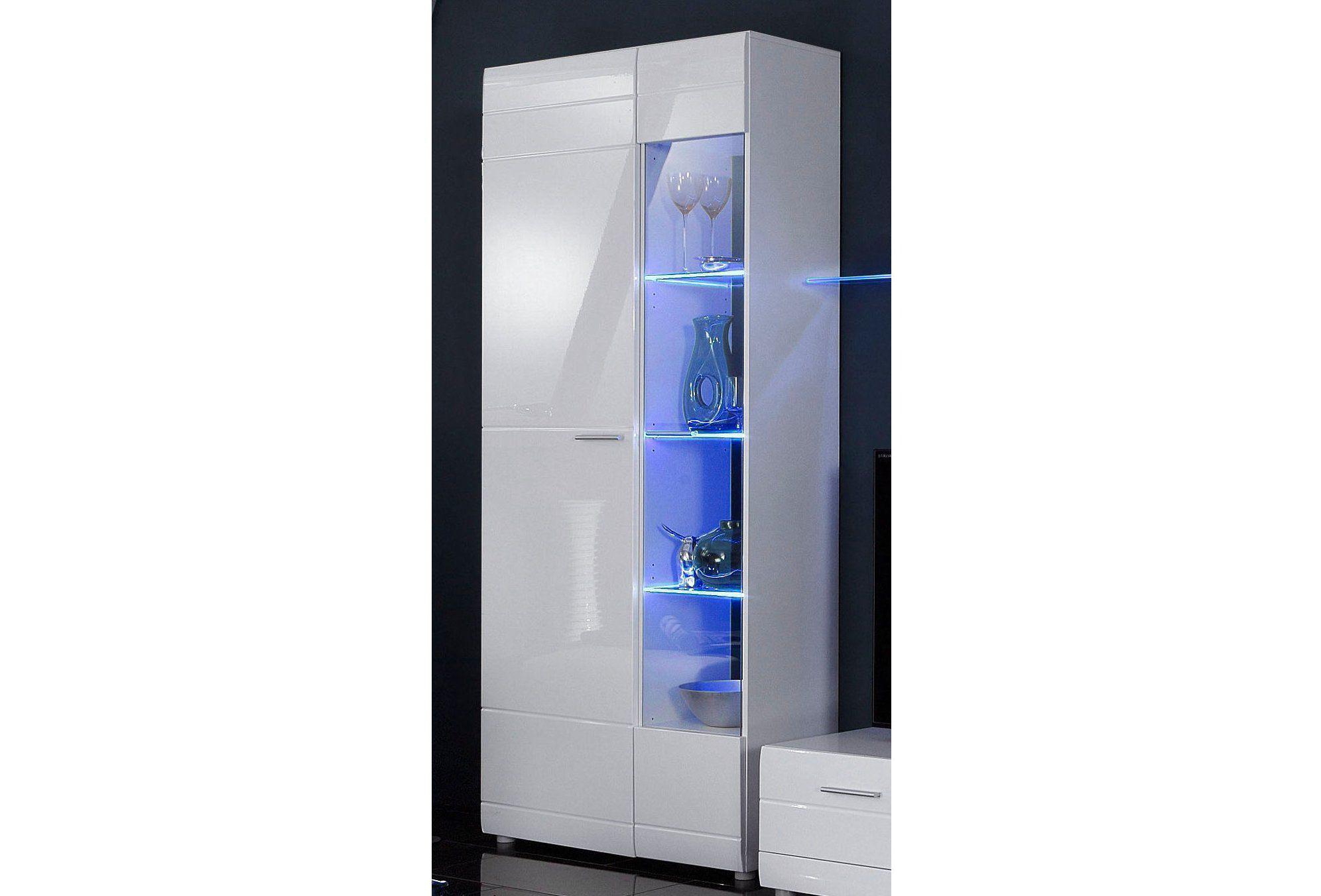 standvitrine h he 200 cm schwab versand wohnw nde. Black Bedroom Furniture Sets. Home Design Ideas
