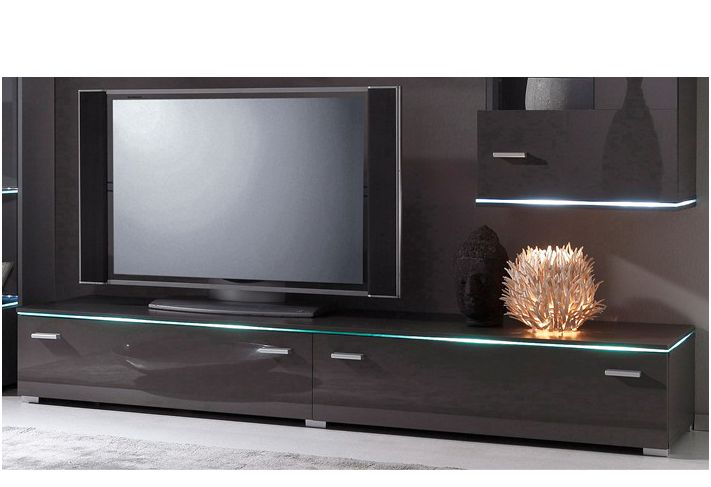 tv lowboard breite 110 cm schwab versand hochglanz wohnw nde. Black Bedroom Furniture Sets. Home Design Ideas