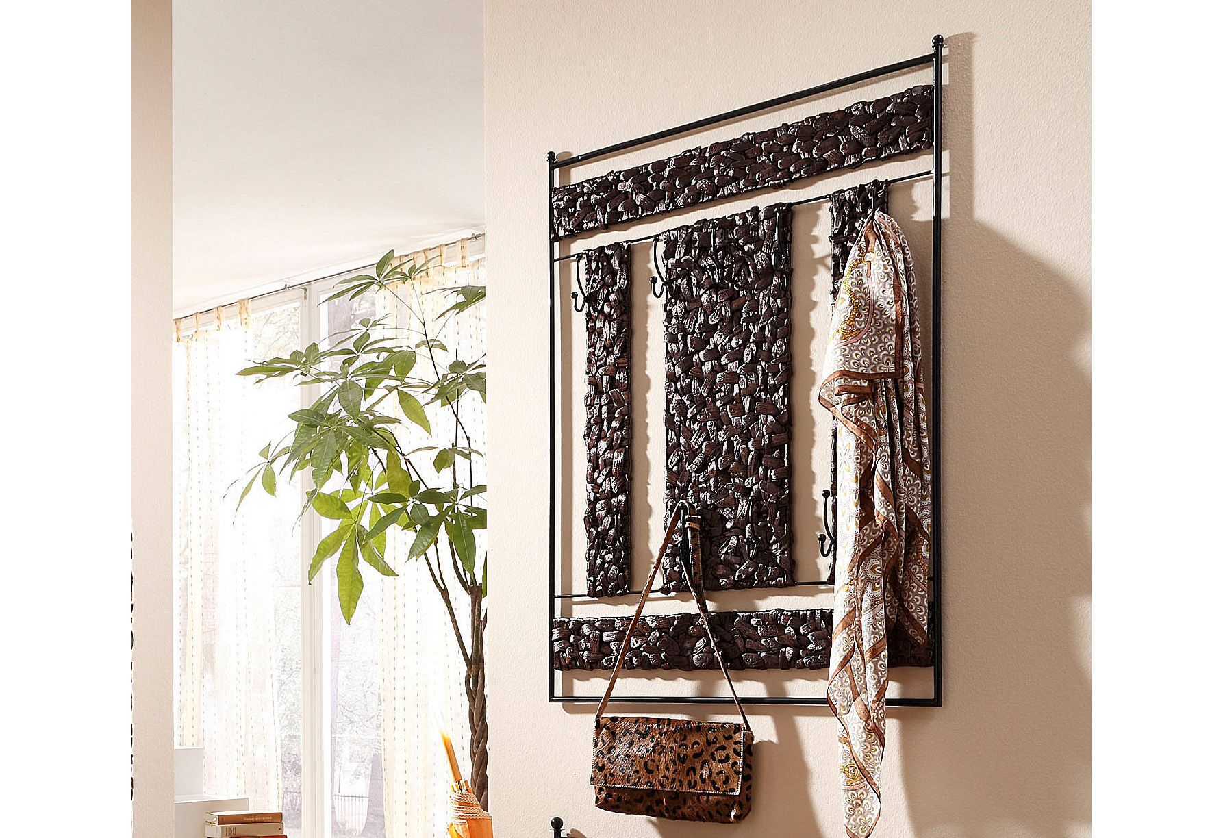 rustikale garderobe g nstig kaufen. Black Bedroom Furniture Sets. Home Design Ideas