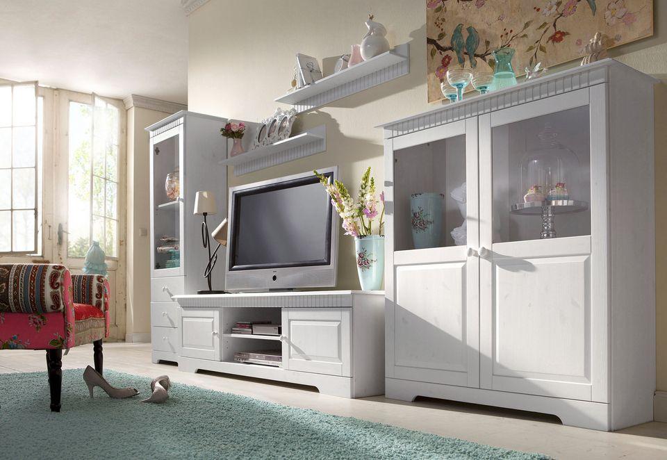 wohnwand modern teilmassiv interessante. Black Bedroom Furniture Sets. Home Design Ideas