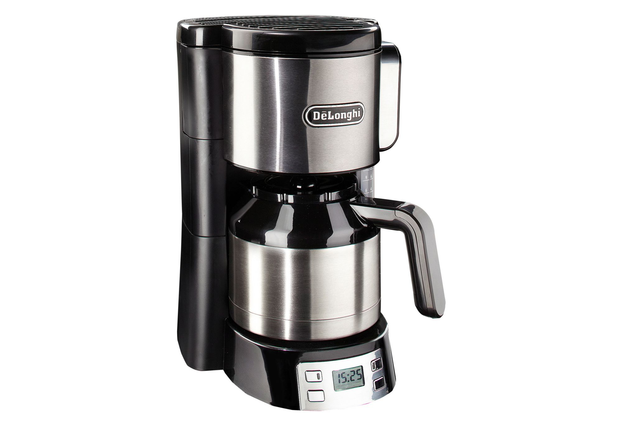 de longhi kaffeemaschine icm15750 mit 1 25 l thermokanne abschaltautomatik 1000 watt. Black Bedroom Furniture Sets. Home Design Ideas