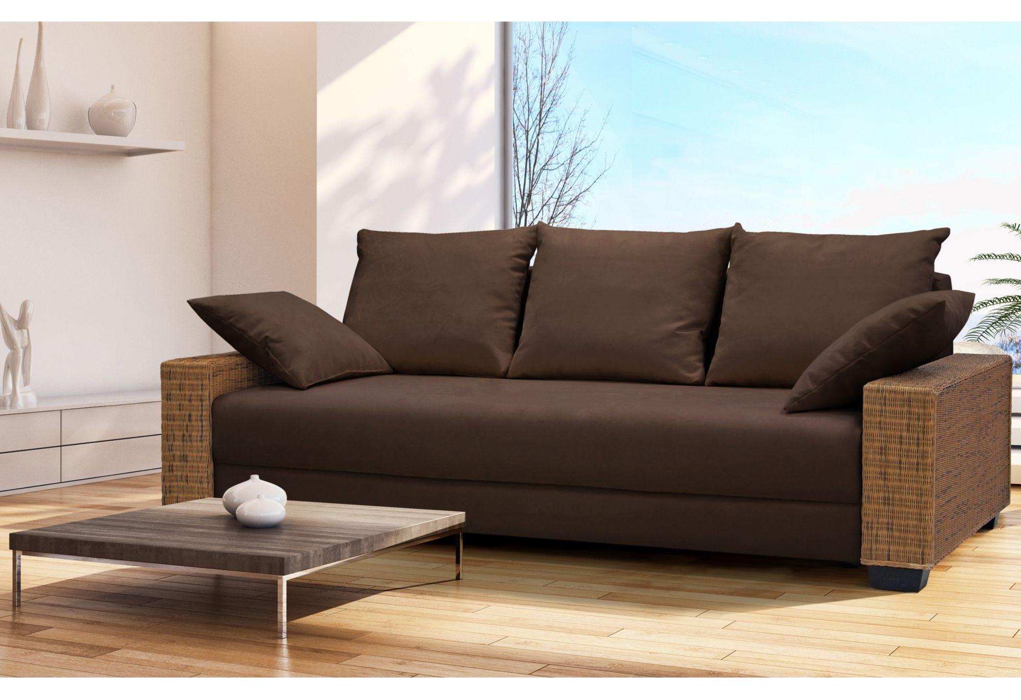 home affaire schlafsofa barolo mit federkern schwab. Black Bedroom Furniture Sets. Home Design Ideas