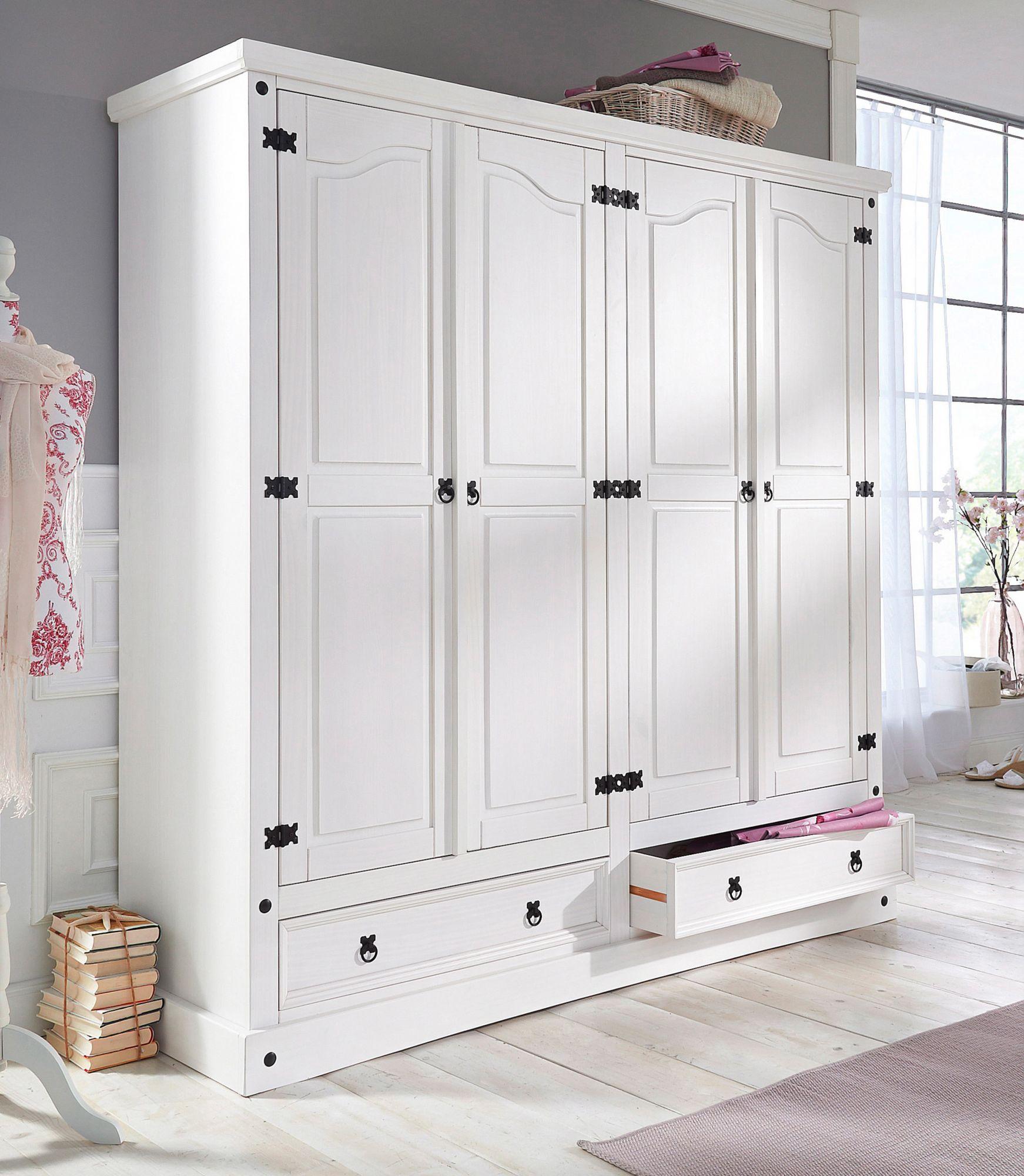 kleiderschrank home affaire mexiko schwab versand dreht renschr nke. Black Bedroom Furniture Sets. Home Design Ideas