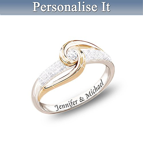 Lover's Knot Personalised Diamond Ring
