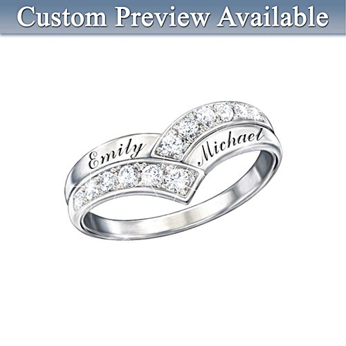 'Enduring Love' Personalised Diamond Ring