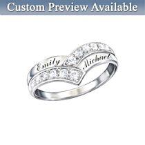 'Enduring Love' Personalised Diamond Ring