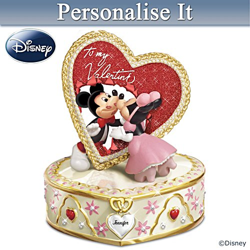 Mickey And Minnie Personalised Music Box