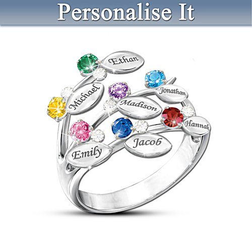 Personalised Leaf-Design Ring