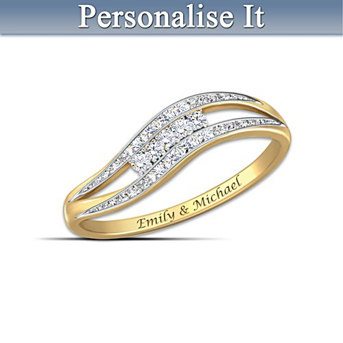 """Enchantment"" Personalised  Diamond Ring"