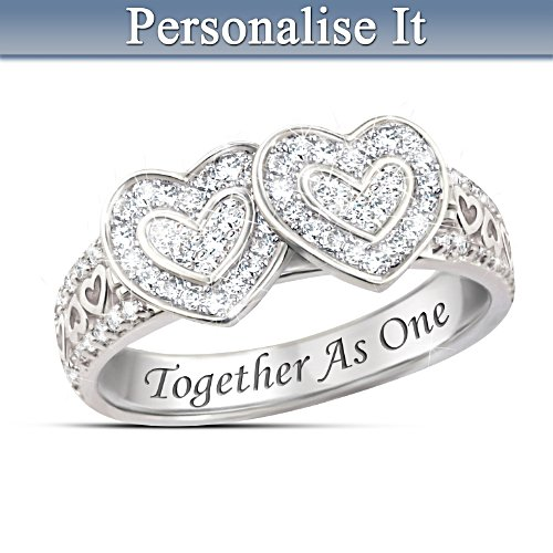 """""""Together As One"""" Personalised Ring"""