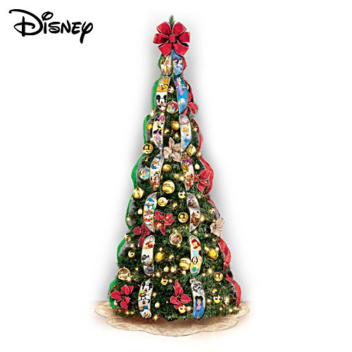 "Disney ""Wondrous Christmas"" Pre-Lit Pull-Up Tree"