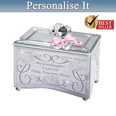 'My Granddaughter, I Love You' Music Box