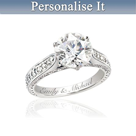 """Love's Perfection"" Personalised Ring"