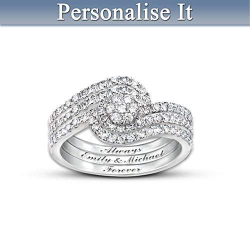 """The Story Of Our Love"" Personalised Ring"