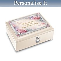 """I Love You Always"" Granddaughter Music Box"
