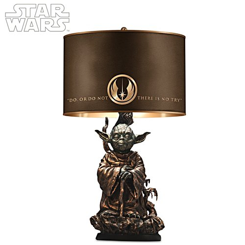 STAR WARS Jedi Master Yoda Lamp