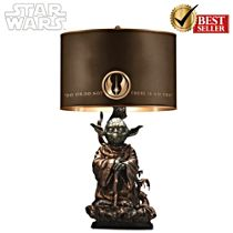 STAR WARS Jedi Master Yoda Masterpiece Tabletop Lamp