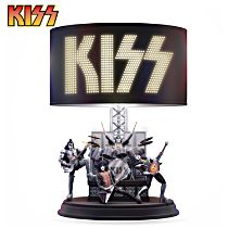 KISS Destroyer 40th Anniversary Edition Table Lamp