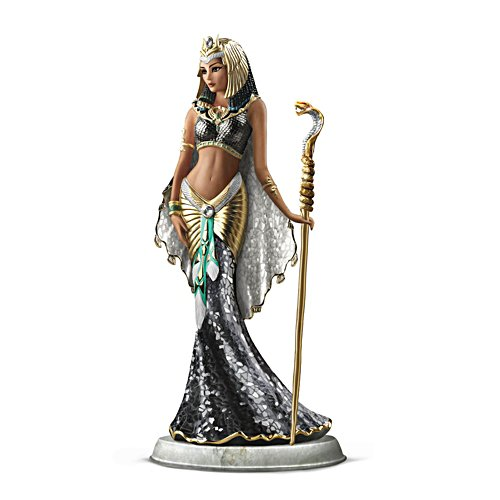 'Cleopatra Goddess Of Egypt' Glass Mosaic Sculpture