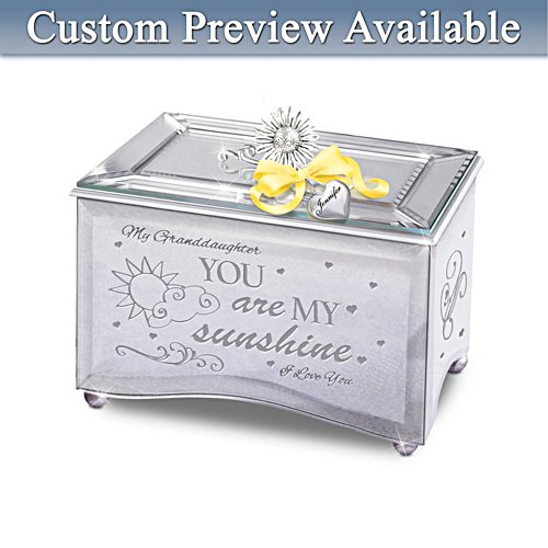 """Granddaughter, You Are My Sunshine"" Music Box"
